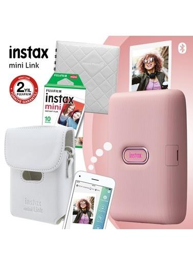 Fujifilm Instax Mini Link Pembe Akıllı Telefon Yazıcısı Ve Hediye Seti 2 Pembe